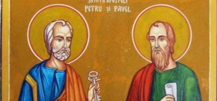 Peste 510.000 de români îşi sărbătoresc luni onomastica de Sfinţii Apostoli Petru şi Pavel