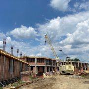 Noul Spital de Psihiatrie de la Căpâlnaș a ajuns la ultimul etaj, în roșu!