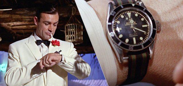 Sean Connery între James Bond și Rolex Submariner