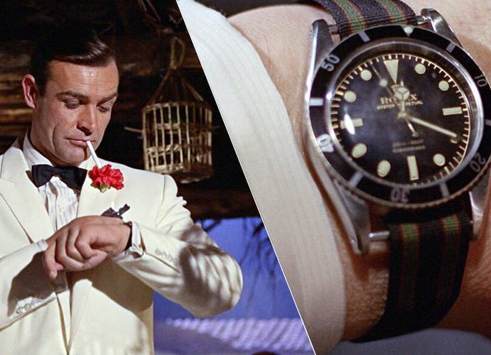 Sean Connery între James Bond și Rolex Submariner