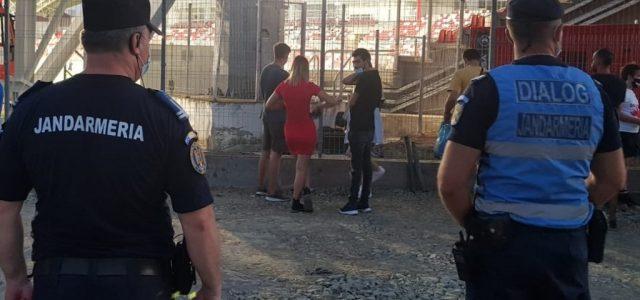 Jandarmii arădeni vor asigura măsurile de ordine publică  pe timpul desfășurării meciului de fotbal  dintre echipele UTA și Politehnica Iași