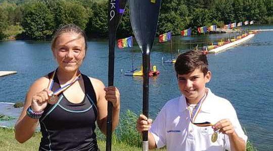 Kaiaciştii de la CSŞ Gloria au cucerit trei medalii la Campionatele Naţionale