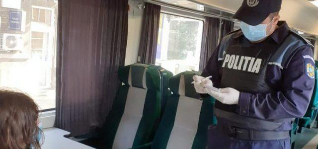 Controale în trenuri și stațiile CFR din județul Arad