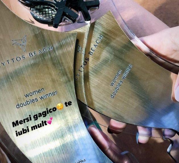 Un nou trofeu pentru perechea Ioana Roșca/Andreea Roșca la ITF Heraklion