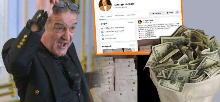 Escrocherii cu sute de mii de euro, în numele lui Gigi Becali!