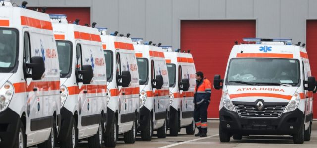 Ministerul Dezvoltării achiziționează 1358 de ambulanțe noi