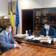 Iustin Cionca s-a întâlnit cu reprezentanții Terracult, o importantă companie agricolă din județul Arad