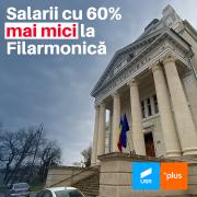 USR Arad: Noul buget al Aradului prevede reducerea cu 60% a salariilor de la Filarmonică