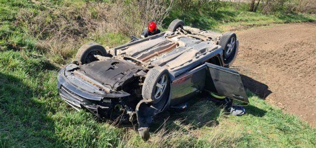 Accident grav la ieșirea din Zimandu Nou, victimă transportată cu elicopter SMURD
