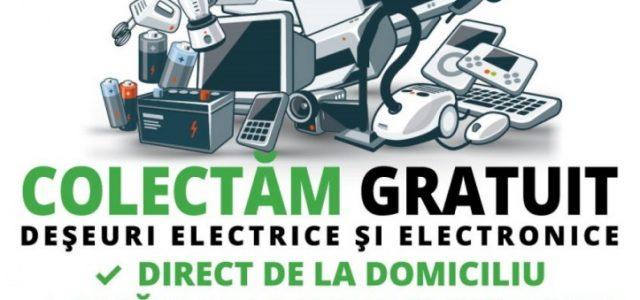 Primăria Arad organizează o acțiune de colectare a deșeurilor electrice