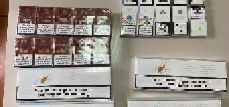 Contrabandă cu țigări netimbrate la Lipova