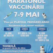 Maratonul vaccinării la Arad