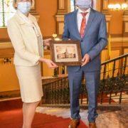 Ambasadorul Sloveniei a vizitat Aradul!