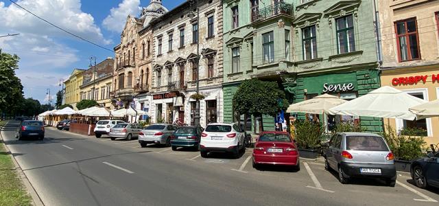 USR PLUS propune zonă pietonală pe bulevardul Revoluției