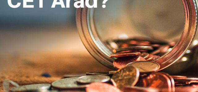 USR Arad: CET este mai aproape cu 40 de milioane de lei de faliment