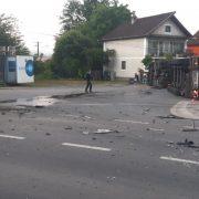Accident rutier soldat cu pagube materiale în Săvârșin