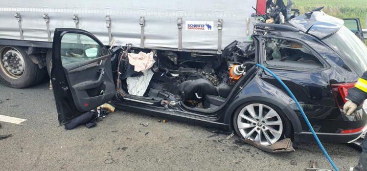 Accident pe autostrada Nădlac-Arad soldat cu victime