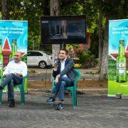 Meciurile Euro 2020 vor fi vizionate pe ecrane mari, în aer liber