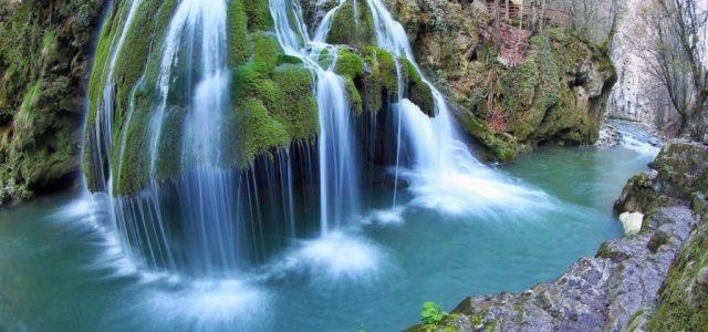 Cascada Bigăr s-a prăbuşit luni din cauze naturale