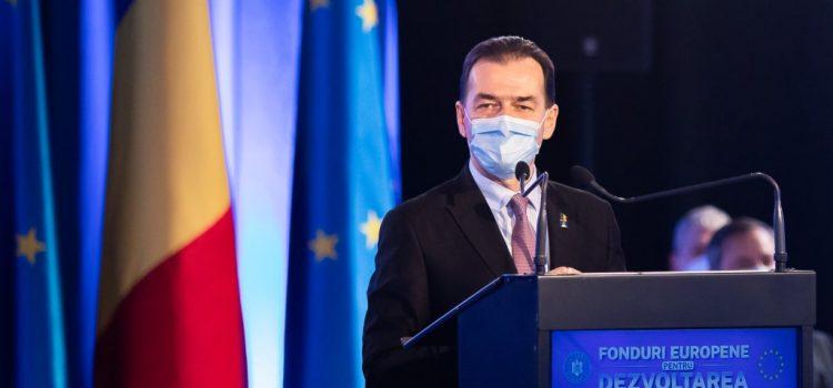 Președintele PNL, Ludovic Orban, vine duminică la Arad