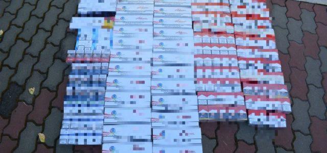 Percheziții în Ineu la contrabandiști de țigări