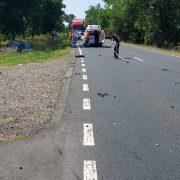Accident grav la Șimand soldat cu decesul unui motociclist