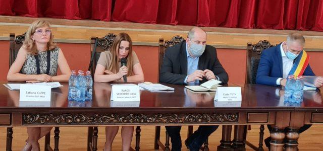 Vladimirescu este a noua comună din Arad cadastrată integral