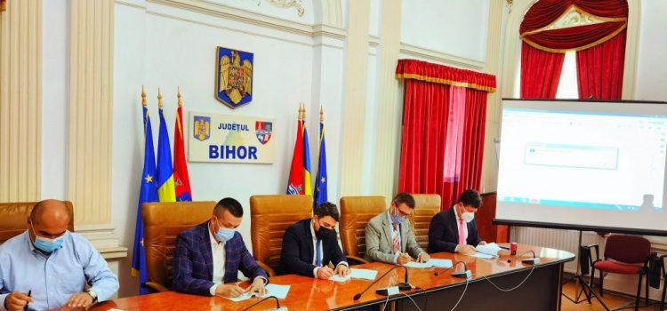 CJA a semnat contractul de execuție a lucrărilor de proiectare pentru drumul expres Arad-Oradea
