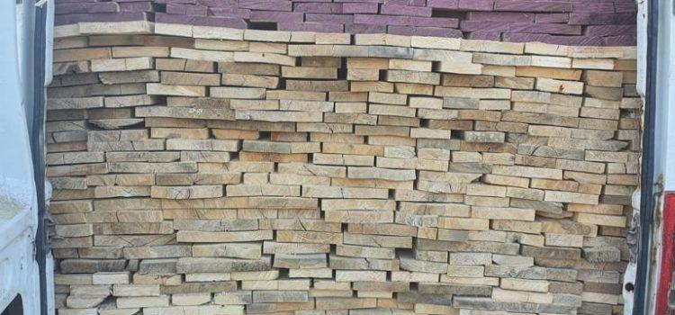 Comercializa material lemnos fără acte justificative