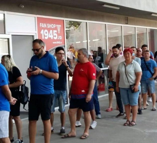 Sold out la UTA – FCSB! Cele peste trei mii de bilete s-au vândut ca pâinea caldă