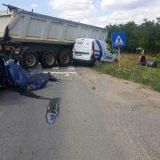 Accident grav cu 7 victime în județul Timiș