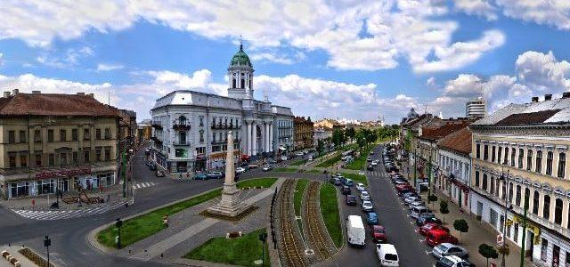 """Traficul rutier se închide pe tronsonul Teatrul Clasic """"Ioan Slavici"""" – Palatul Administrativ"""