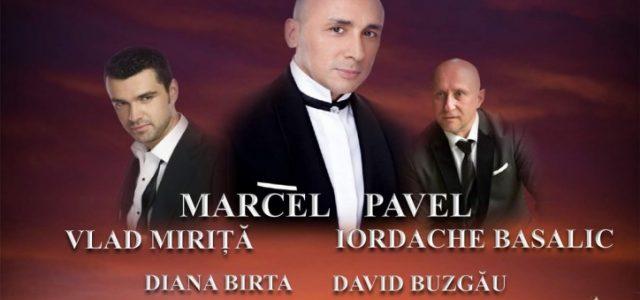 Marcel Pavel, Vlad Miriță și Iordache Basalic cântă la Lipova Symphonic City