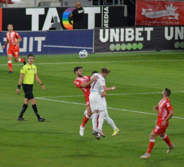Campioana pleacă de la Arad cu toate cele trei puncte! UTA – CFR Cluj 0-1 (0-1)