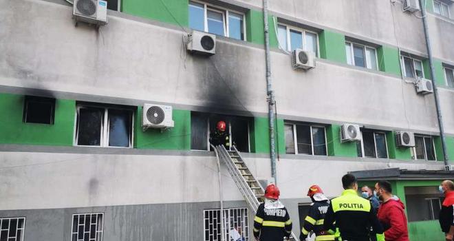 7 pacienţi decedaţi în incendiul de la Spitalul de Boli Infecţioase din Constanța